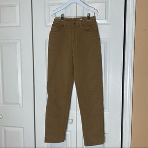Vintage Levi's 550 Relaxed Fit Tapered Khaki Jeans